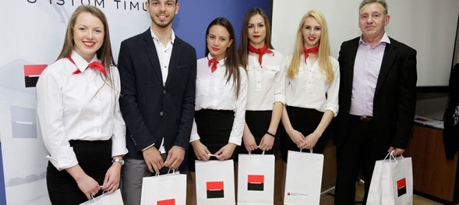7. Ученици освојили прво место у оквиру пројекта Societe Generale банке
